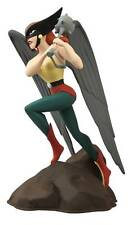 FEMME FATALE JUSTICE LEAGUE UNLIMITED ANIMATED SERIES HAWKGIRL PVC STATUE! JLA!