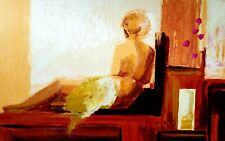 ADRIANA NAVEH LIMITED EDITION SERIGRAPH ON PAPER, ESCAPE, SIGNED!