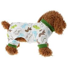 Pet Dog Cotton Sleep Jumpsuit Knitting Puppy Pajamas Pet Home Clothes Apparel
