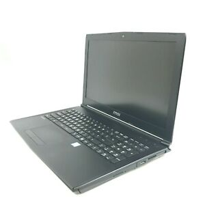 "MSI GL62 6QD Laptop 16.1"" i5-6300U 2.3GHz 8GB DDR4 1TB HDD GTX950M (No Battery)"