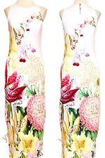 TED BAKER LONDON Pink Julee Encyclopedia Floral Midi Dress Size 3 (US 8) $225