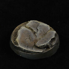 32mm (5) Slate Rock Battle Damage Scenic Resin Miniature Base Warhammer 40k