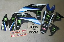 FX TEAM MONSTER  GRAPHICS  YAMAHA YZ250F YZF250 2010 2011 2012 2013