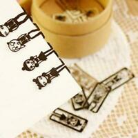 Cute Exquisite Mini Metal Bookmarks Schoolffice Book Note Clips-with Z0A4
