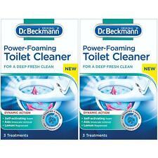2 x Dr Beckmann Power-Foaming Toilet Cleaner - Deep Clean - 3 x 100g Treatments