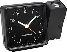 Réveils et radios-réveils modernes analogiques noirs pour la maison