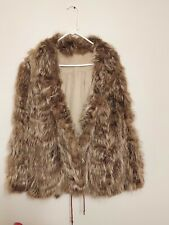 Real Fur Coat Unbranded Handmade Pre-Owned Womens Coat