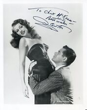 GLENN FORD: Publicity Photo from GILDA in 1946, Autographed by Golden Age Icon