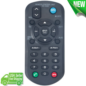 RC-406 Replace Remote Control for Kenwood CD Receiver KDC-200UB KDC-X398 KDC170Y