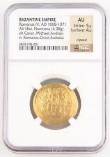 Byzantinisch Reich 1059-67 Gold Histamenon Nomisma Constantine X Graded Von Ngc Byzantinische Münzen