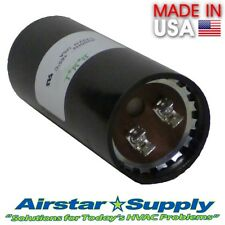 130-156 MFD uf 220-250 VAC Round Electric Motor Start Capacitor • Made in USA
