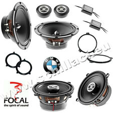 FOCAL 6 speakers kit for BMW serie 3 e46 1998-2006 box + spacer rings adapters