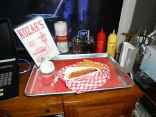 Car Hop Tray With 8 Piece Display Food 3 Pieces Are Attached Very Good Cond Fs