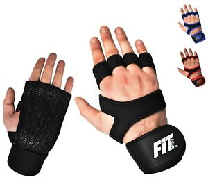 Workout Gloves Men Wrist Support Weight Lifting Body Fitness Training Gym Straps