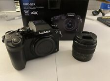 Panasonic Lumix DMC-G7 Mirrorless with 14-42mm Lens, Black