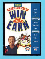 Wayne Gretzky 1999 Esso Hockey Ad Coupon Brochure Contest Entry Form