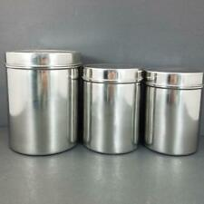 Stainless Steel Canisters Set of 3