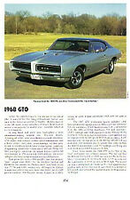 1968 Pontiac GTO Article - Must See !!