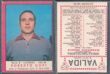 FIGURINA CALCIATORI PANINI A-1967/68* LIVORNO,ROBERTO GORI * NUOVA,PERFETTA