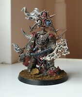 COMMISSION Warhammer 40k Death Guard Lord of Contagion Pro-Painted Steam-Punk