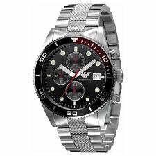 New Emporio Armani AR5855 Men's Watch Round Chronograph Black Dial Watch