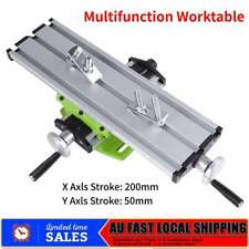 310mm Compound XY Cross Worktable Drill Bench Milling Machine Vise Working Table