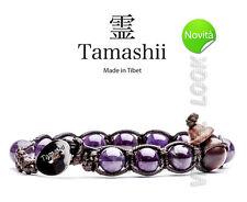 TAMASHII BHS900-08 AMETISTA - BRACCIALE ORIGINALE TIBETANO CON PIETRE NATURALI