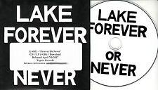 LAKE Forever Or Never 2017 Euro 12-trk promo CD