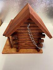 Wooden Birdfeeder Hand Made