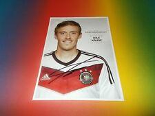 Max Kruse  DFB  WM 2014  signed signiert  Autogramm Autogrammkarte