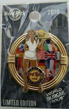 LAS VEGAS,Hard Rock Cafe Pin,BURGER Series Brunette,sexy