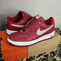 2006 NIKE AIR FORCE 1 PREMIUM Valentine's Day white red 12 patent leather af1