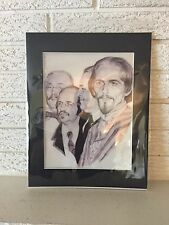 BEATLES Sgt. Pepper's When I'm Sixty Four On Vellum matted Ready to Frame Pic