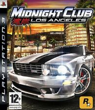 Midnight Club Los Angeles Game PS3 Sony PlayStation 3 PS3 Brand New
