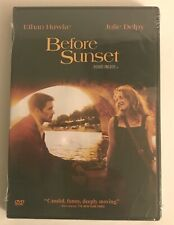Before Sunset Dvd Ethan Hawke Julie Delpy Richard Linklater New and Sealed