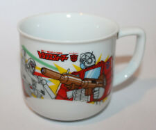 1984 Japanese Transformers Original Ceramic Tea Cup Novelty Item Japan