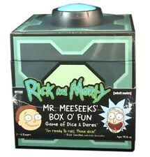Cryptozoic Games, Rick & Morty, Dice & Dare Game, Mr. Meeseek's Box O' Fun, New