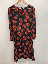 Topshop Rose Midi Dress UK 12 Ladies