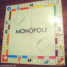 Ricambio tabellone di gioco MONOPOLI modello RETTANGOLARE vintage classico VENDO