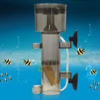 600/800 L/H Mini Aquarium Fish Tank Air Driven Protein Skimmer with Suction