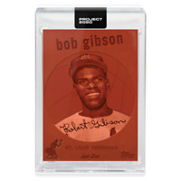 Topps PROJECT 2020 Card 163 - 1959 Bob Gibson by Don C