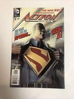 Action Comics (2012)  #9 (NM) Calvin Ellis Superman | 1st Full Cover App