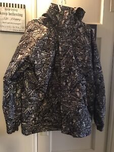 Grenade Army Corps Snowboard Winter Jacket Men's Size Large All Over Print