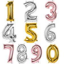 Hochzeit Helium Ballon Luftballons Zahl0-9 A-Z Alphabet Folienballons Geburtstag