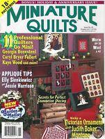 Miniature Quilts Magazine #50 Bonus Holiday & Anniversary Issue 2001 18 Patterns