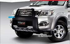 BLACK FRONT BUMPER GUARD FOR NEW TOYOTA HILUX VIGO CHAMP 2011-2013 GENUINE PARTS