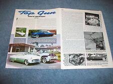 "Custom Car Legend Bill Gaylord Profile Article ""Top Gun"""