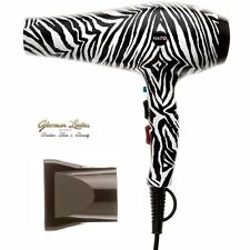 Hair Dryer 2200w, Professional, Zebra Pattern, Haito Hair Tools  3m Cable.
