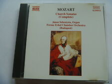 4891030505124 MOZART CHURCH SONATAS NAXOS FREEPOST CD