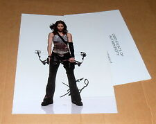 Jessica Biel *seltene lange Unterschrift*, original signiertes Foto in 20x25 cm